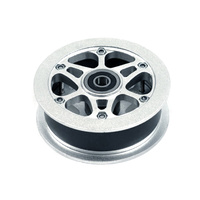 Dirt Scooter Alloy Wheel Core with Bearing (No Tyre) - 1 pce