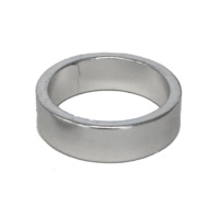 Alloy Head Set Spacer 10mm Silver