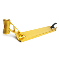 Grit Vendetta Deck Gold 12.5 wide for 110mm (aftermarket only integrated inc brake & axle)