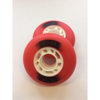 Code Castor Wheels - Red (PR)