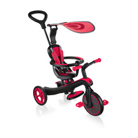 Globber Explorer Trike 4 in 1 - Red