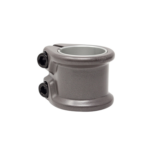 HTDC Dbl Clamp Titanium Grey