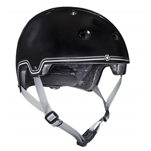 Helmet L/59-61-Black w/Magnetic Catch